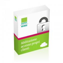 Abilitazione accesso ai propri clienti